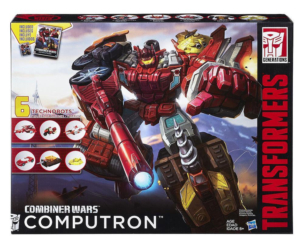 Transformers Combiner Wars STRAFE Complete Deluxe Computron